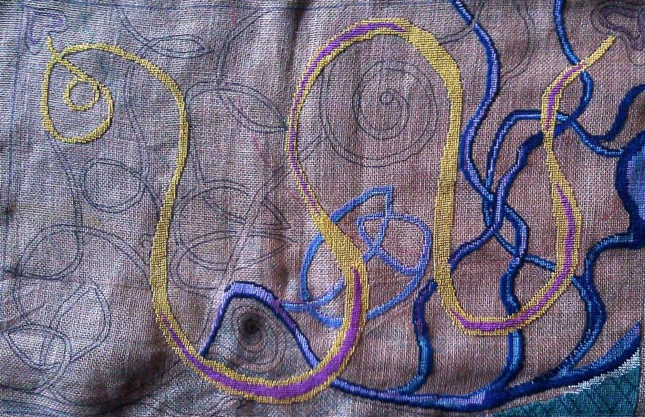 celtic swirl wip 1