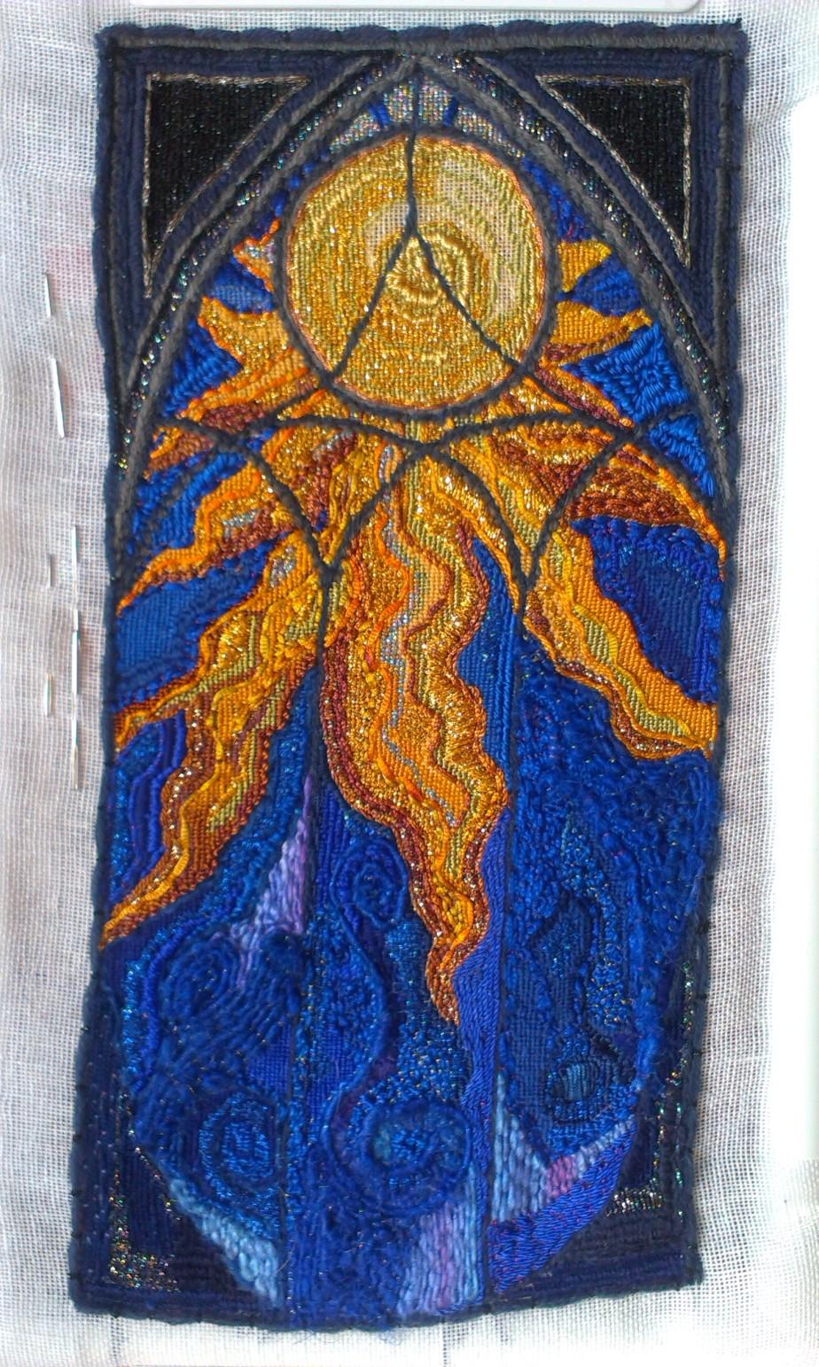 unfinished gothic sun