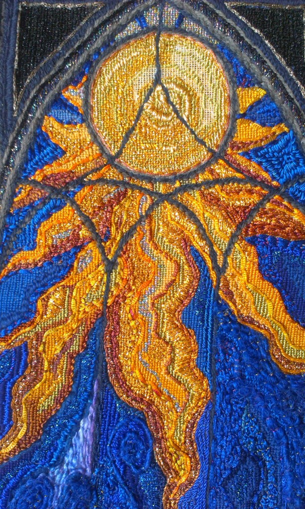 unfinished gothic sun detail