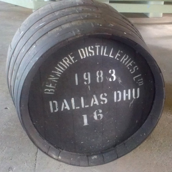 whisky barrel dallas dhu